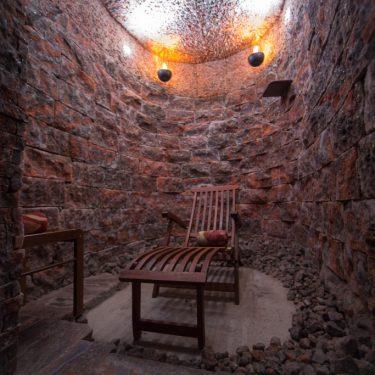 соляная пещера из сильвинита